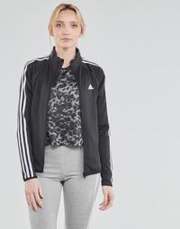Odjeća Žene  Gornji dijelovi trenirke adidas Performance W 3S TJ Crna