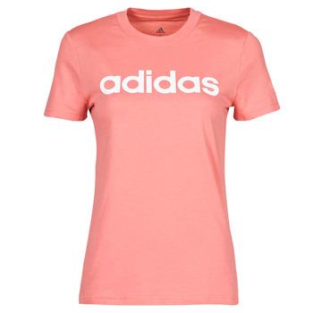 Odjeća Žene  Majice kratkih rukava adidas Performance W LIN T Ružičasta