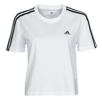 Odjeća Žene  Majice kratkih rukava adidas Performance W 3S CRO T Bijela
