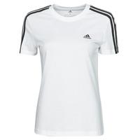 Odjeća Žene  Majice kratkih rukava adidas Performance W 3S T Bijela