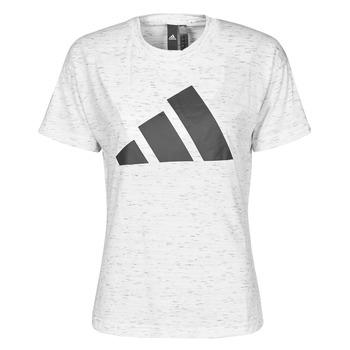 Odjeća Žene  Majice kratkih rukava adidas Performance W WIN 2.0 TEE Bijela