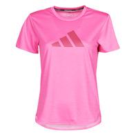 Odjeća Žene  Majice kratkih rukava adidas Performance BOS LOGO TEE Ružičasta