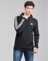 Odjeća Muškarci  Sportske majice adidas Performance M 3S FL HD Crna