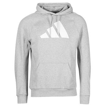 Odjeća Muškarci  Sportske majice adidas Performance M FI Hood Siva