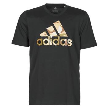 Odjeća Muškarci  Majice kratkih rukava adidas Performance M CAMO T Crna