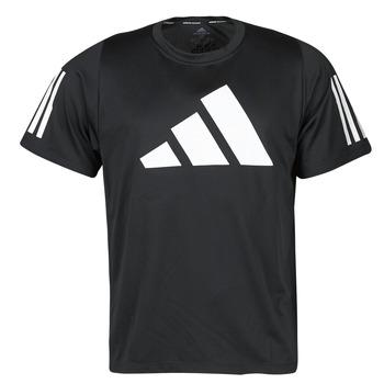 Odjeća Muškarci  Majice kratkih rukava adidas Performance FL 3 BAR TEE Crna