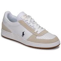 Obuća Muškarci  Niske tenisice Polo Ralph Lauren POLO CRT PP-SNEAKERS-ATHLETIC SHOE Bijela