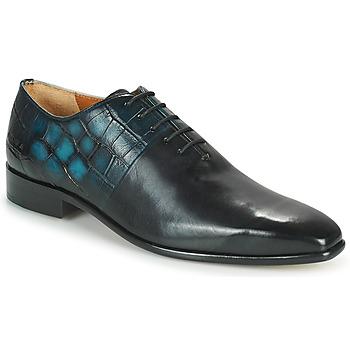 Obuća Muškarci  Oksfordice Melvin & Hamilton LANCE 61 Crna / Blue