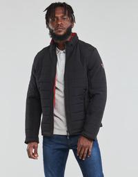 Odjeća Muškarci  Pernate jakne Guess  Crna / Narančasta