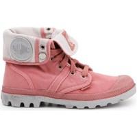 Obuća Žene  Derby cipele & Oksfordice Palladium Manufacture Pallabrouse Baggy Ružičasta