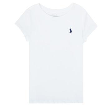 Odjeća Djevojčica Majice kratkih rukava Polo Ralph Lauren ZALLIE Bijela