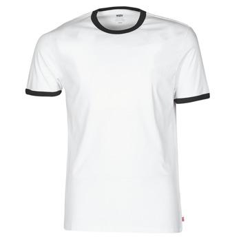 Odjeća Muškarci  Majice kratkih rukava Levi's SS RINGER TEE Bijela