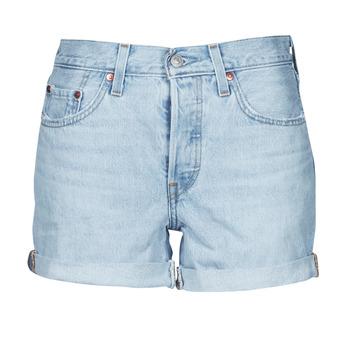 Odjeća Žene  Bermude i kratke hlače Levi's 501 ROLLED SHORT Blue