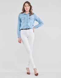 Odjeća Žene  Skinny traperice Levi's 721 HIGH RISE SKINNY Bijela