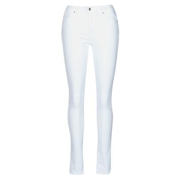 Odjeća Žene  Skinny traperice Levi's 721 HIGH RISE SKINNY Western / Bijela