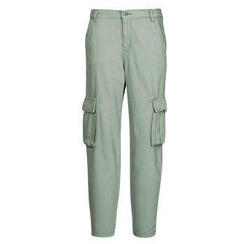 Odjeća Žene  Cargo hlače Levi's LOOSE CARGO Siva / Zelena