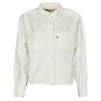 Odjeća Žene  Košulje i bluze Levi's ZOEY PLEAT UTILITY SHIRT Bijela