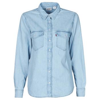 Odjeća Žene  Košulje i bluze Levi's ESSENTIAL WESTERN Blue