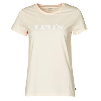 Odjeća Žene  Majice kratkih rukava Levi's THE PERFECT TEE Scallop / Shell