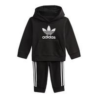 Odjeća Djeca Sportske majice adidas Originals DV2809 Crna