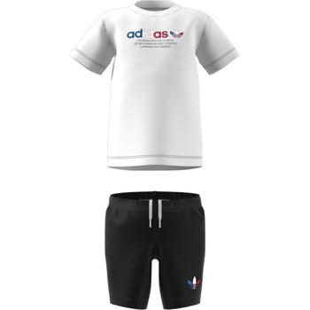 Odjeća Djeca Dječji kompleti adidas Originals GN7413 Bijela