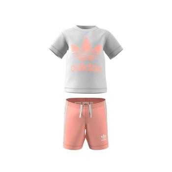 Odjeća Djeca Dječji kompleti adidas Originals GN8192 Bijela