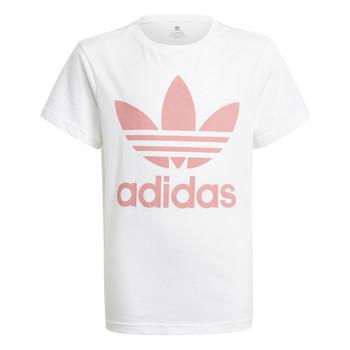 Odjeća Djeca Majice kratkih rukava adidas Originals HOULILA Bijela