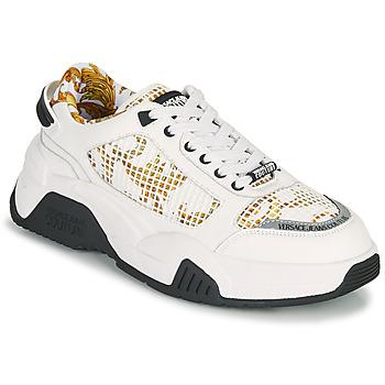 Obuća Muškarci  Niske tenisice Versace Jeans Couture HATINA Bijela / Gold
