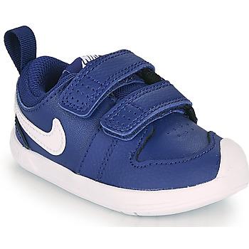 Obuća Dječak  Niske tenisice Nike PICO 5 TD Blue / Bijela