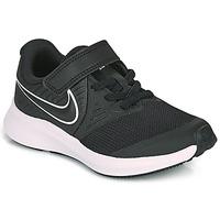 Obuća Djeca Multisport Nike STAR RUNNER 2 PS Crna / Bijela
