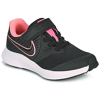 Obuća Djevojčica Multisport Nike STAR RUNNER 2 PS Crna / Ružičasta