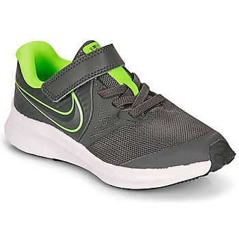 Obuća Dječak  Multisport Nike STAR RUNNER 2 PS Siva / Zelena