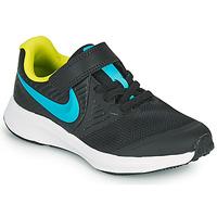 Obuća Dječak  Multisport Nike STAR RUNNER 2 PS Crna / Blue