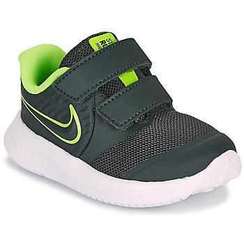 Obuća Dječak  Multisport Nike STAR RUNNER 2 TD Crna / Zelena