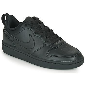 Obuća Djeca Niske tenisice Nike COURT BOROUGH LOW 2 GS Crna