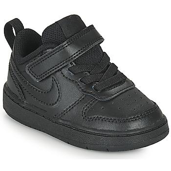 Obuća Djeca Niske tenisice Nike COURT BOROUGH LOW 2 TD Crna
