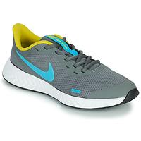Obuća Dječak  Multisport Nike REVOLUTION 5 GS Siva / Blue