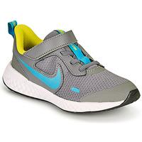 Obuća Dječak  Multisport Nike REVOLUTION 5 PS Siva / Blue