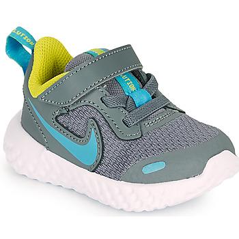 Obuća Dječak  Multisport Nike REVOLUTION 5 TD Siva / Blue