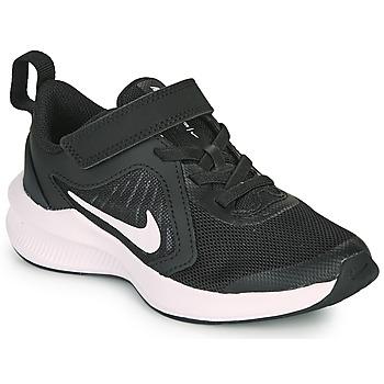 Obuća Djeca Multisport Nike DOWNSHIFTER 10 PS Crna / Bijela