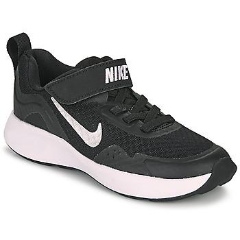 Obuća Djeca Multisport Nike WEARALLDAY PS Crna / Bijela