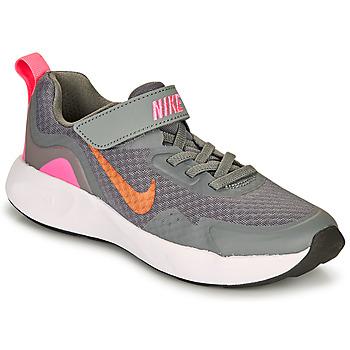 Obuća Djevojčica Multisport Nike WEARALLDAY PS Siva / Ružičasta