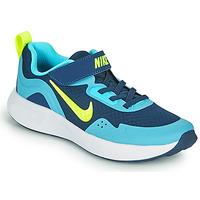 Obuća Dječak  Multisport Nike WEARALLDAY PS Blue / Zelena