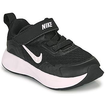 Obuća Djeca Multisport Nike WEARALLDAY TD Crna / Bijela
