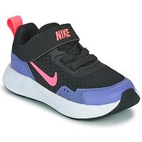 Obuća Djevojčica Multisport Nike WEARALLDAY TD Crna / Blue