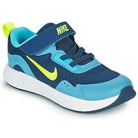 Obuća Dječak  Multisport Nike WEARALLDAY TD Blue / Zelena