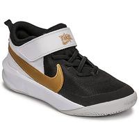 Obuća Djeca Multisport Nike NIKE TEAM HUSTLE D 10 Bijela / Crna / Gold