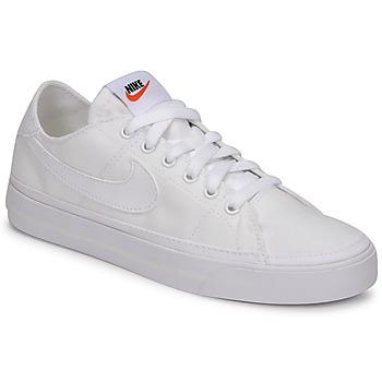 Obuća Žene  Niske tenisice Nike NIKE COURT LEGACY CANVAS Bijela