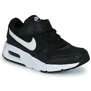 Obuća Djeca Niske tenisice Nike NIKE AIR MAX SC (PSV) Crna / Bijela