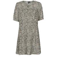 Odjeća Žene  Kratke haljine Vero Moda VMELIN Bež